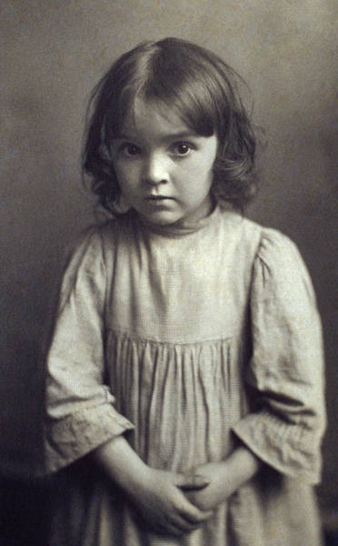 Wall Art - Photograph - Brownell Child, C1900 by Granger