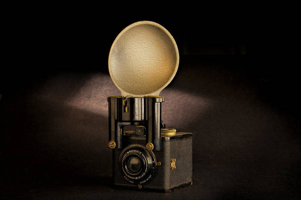 Photograph - Brownie Flash Six-20 Circa 1946-1955 by Peter Tellone