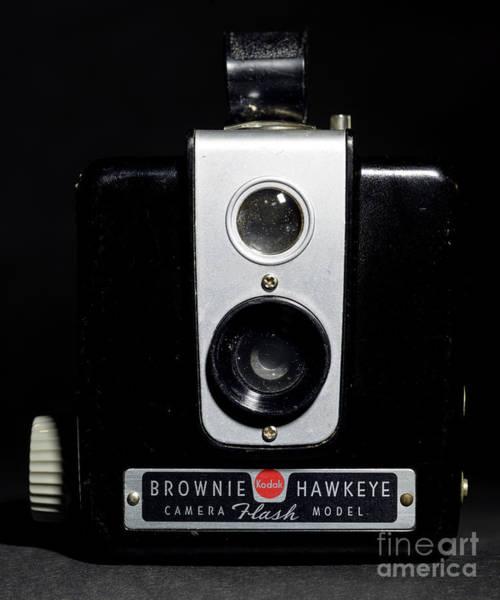 Brownie Hawkeye Flash Camera Art Print