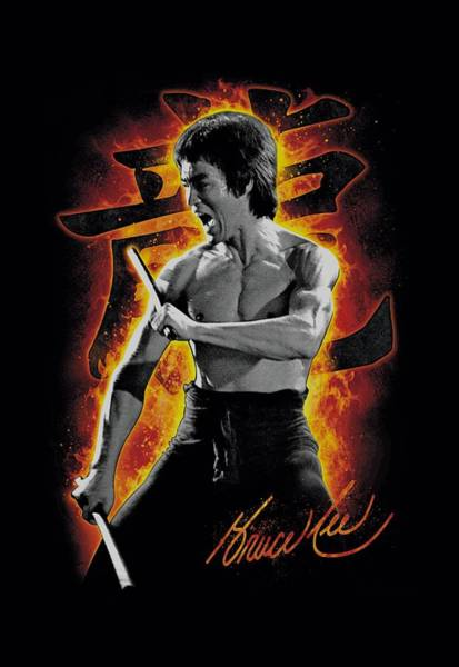 Hong Digital Art - Bruce Lee - Dragon Fire by Brand A