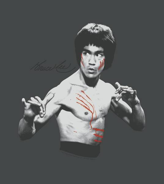 Hong Digital Art - Bruce Lee - Final Confrontation by Brand A