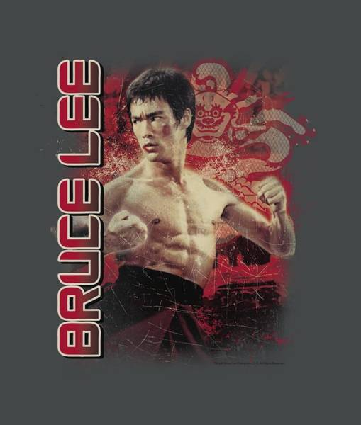 Hong Digital Art - Bruce Lee - Fury by Brand A