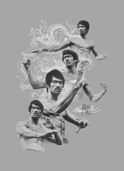 Hong Digital Art - Bruce Lee - In Motion by Brand A