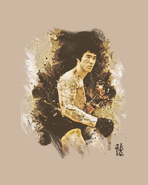 Hong Digital Art - Bruce Lee - Intensity by Brand A