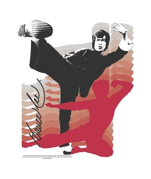Hong Digital Art - Bruce Lee - Kick It by Brand A