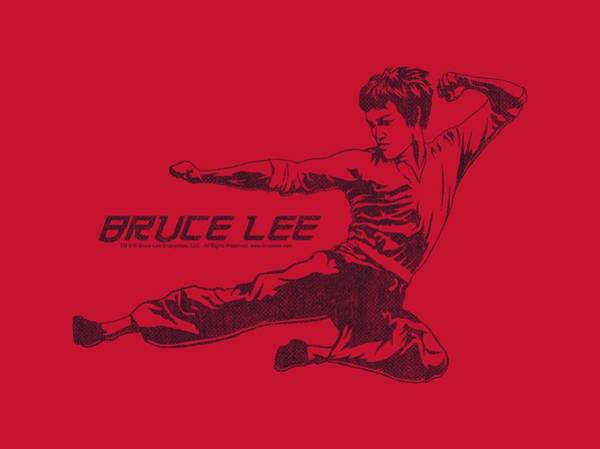 Hong Digital Art - Bruce Lee - Line Kick by Brand A