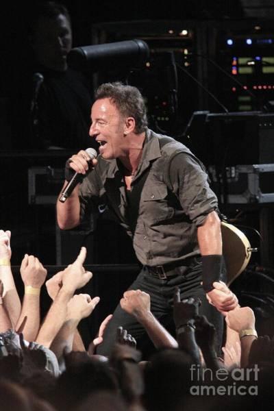 Wall Art - Photograph - Musician Bruce Springsteen by Concert Photos