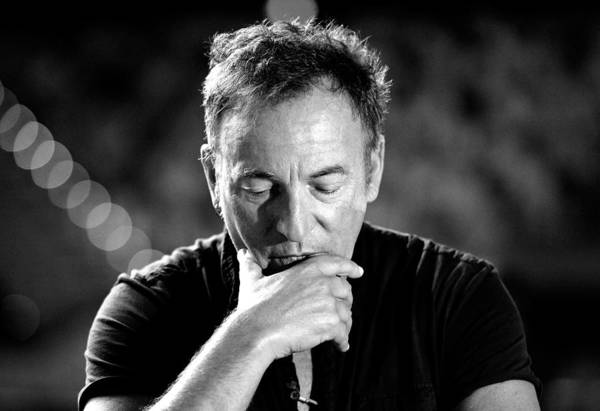 Australia Photograph - Bruce Springsteen Media Call by Bradley Kanaris