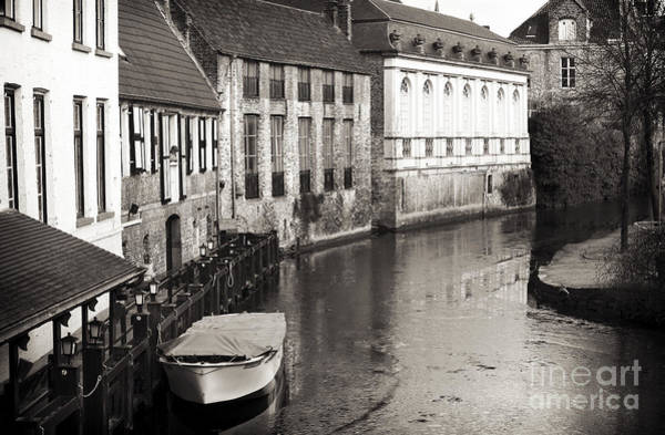 Wall Art - Photograph - Bruges Canal Scene V by John Rizzuto