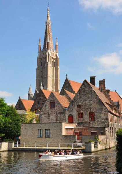 In Bruges Photograph - Bruges Spire by Matt MacMillan