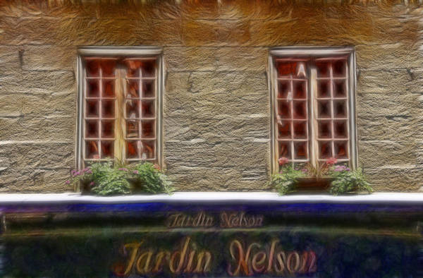 Wall Art - Photograph - Brunch At Jardin Nelson by Lee Dos Santos