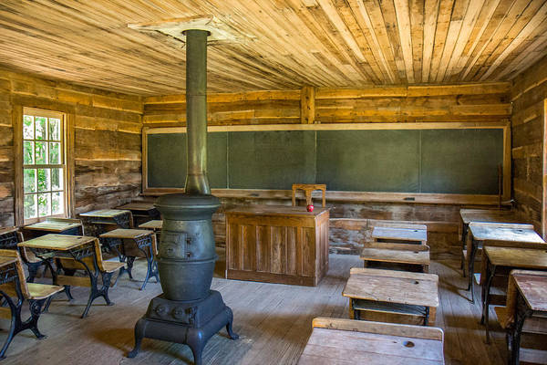 Photograph - Brush Mountain School by Mary Almond