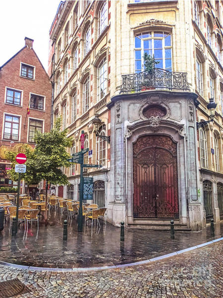 Wall Art - Photograph - Brussels Cafe by Stacey Granger