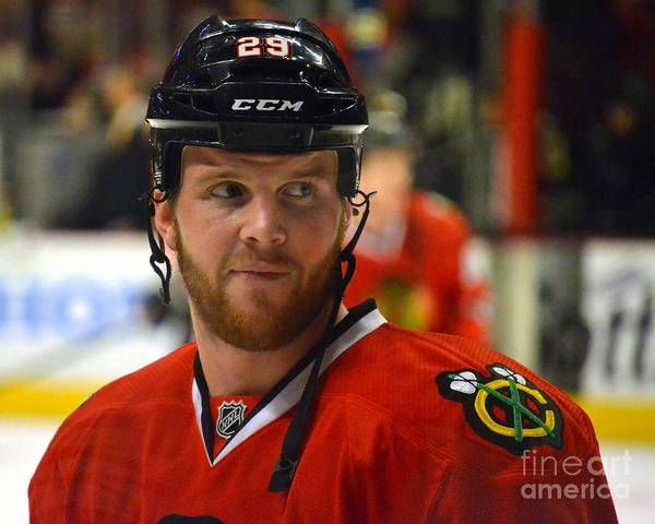 Photograph - Bryan Bickell by Melissa Jacobsen