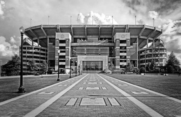 Photograph - Bryant Denny Stadium 2011 by Ben Shields