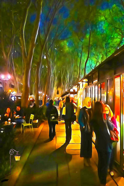 Wall Art - Photograph - Bryant Park Evening by Richard Trahan