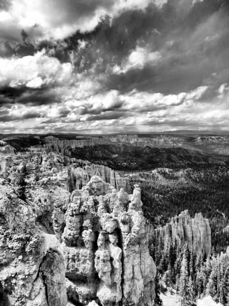 Paria Canyon Photograph - Bryce Canyon In Black And White by Dan Sproul