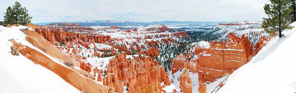 Photograph - Bryce Canyon Panorama by Songquan Deng