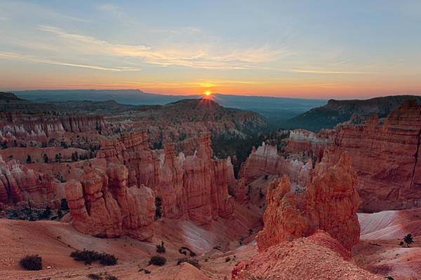 Highway 12 Wall Art - Photograph - Bryce Canyon Sunrise by Jennifer Grover