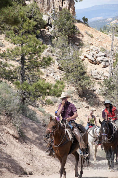 Photograph - Bryce Canyon Trek by Brenda Kean