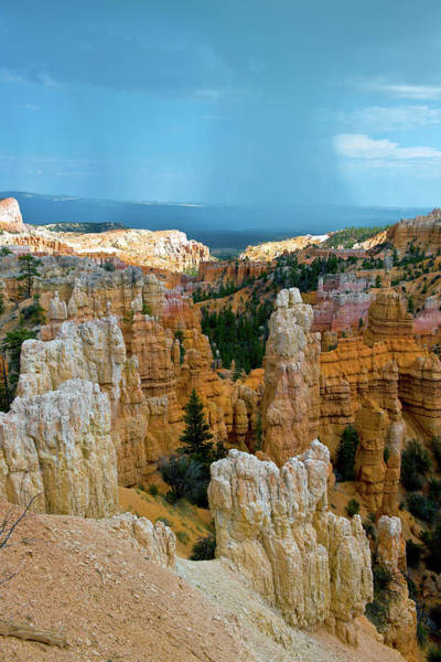 Southwest Usa Photograph - Bryce Rock Formation And Storm Utah Usa by Pavliha