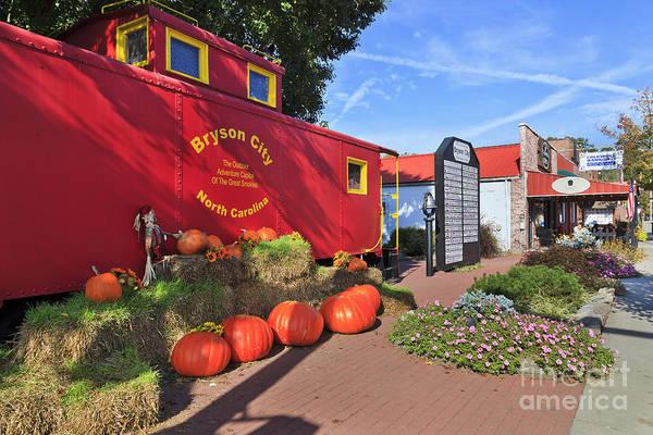 Photograph - Bryson City North Carolina In The Fall by Jill Lang