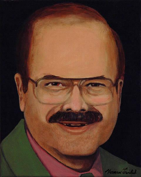 Serial Killer Painting - Btk Dennis Rader by Norman Twisted