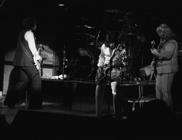 Photograph - Bto Rock Spokane In 1976 by Ben Upham