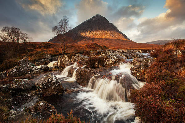 Glencoe Photograph - Buachaille Etive Mòr by Ray Wise