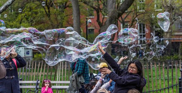 Bubble Attack Art Print