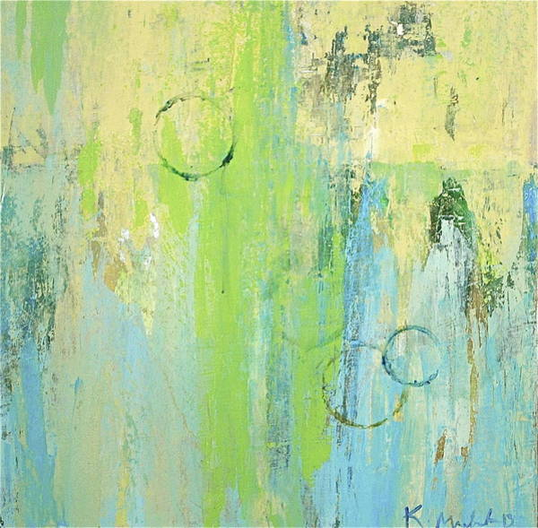 Painting - Bubble Up Split by Kakky Mac