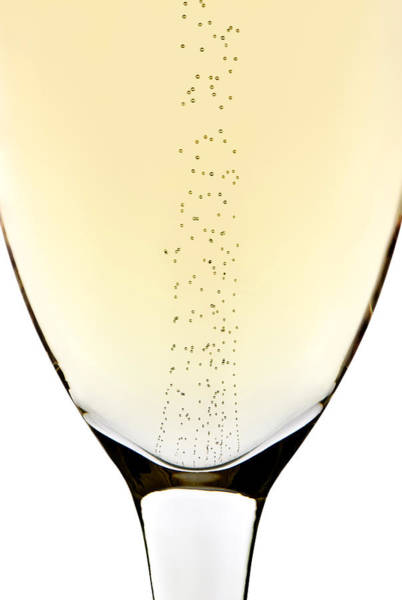 Bubble Up Photograph - Bubbles In Champagne by Johan Swanepoel
