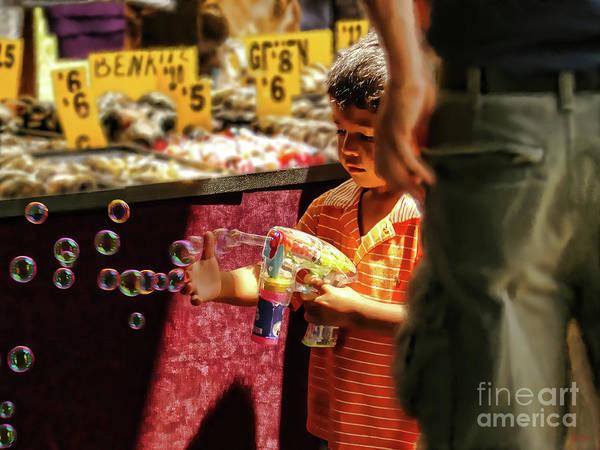 Photograph - Bubbles by Jeff Breiman