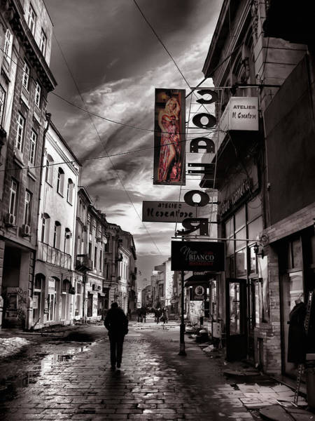 Photograph - Bucharest Street by Daliana Pacuraru