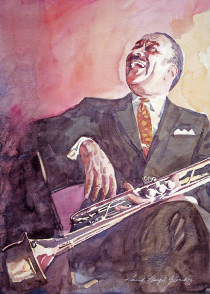 Painting - Buck Clayton Jazz Horn by David Lloyd Glover
