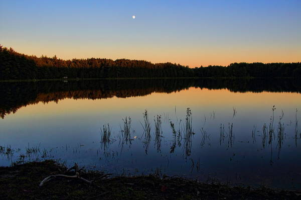 Photograph - Buck Lake Moonrise by Dale Kauzlaric
