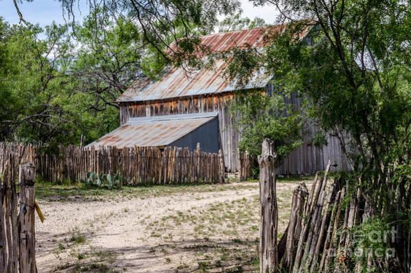 Treen Photograph - Buck Ranch Barn by Debra Martz
