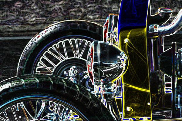 Digital Art - Bucket Roadster by Lesa Fine