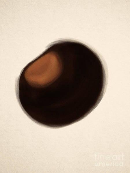 Osu Digital Art - Buckeye  by Rachel Barrett