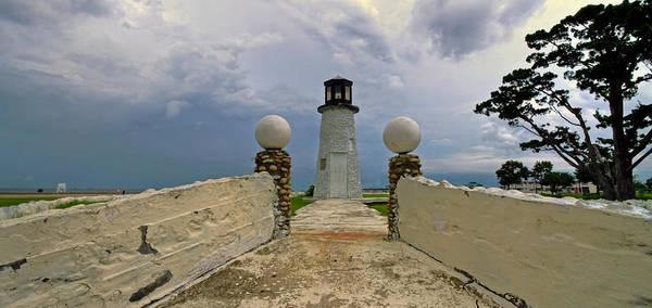 Photograph - Buckroe Beach Lighthouse by Jerry Gammon