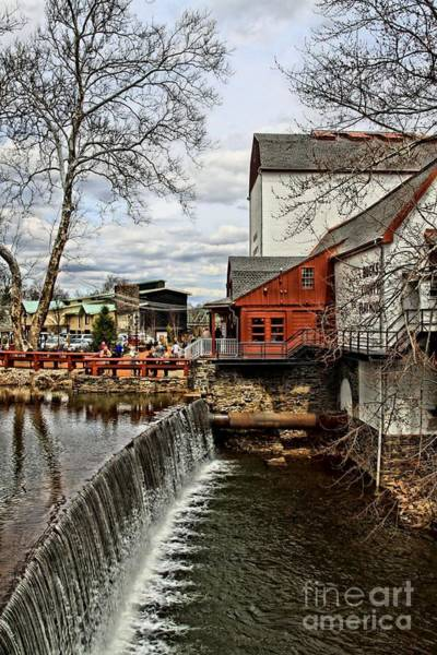 Playhouse Photograph - Bucks County Playhouse by DJ Florek