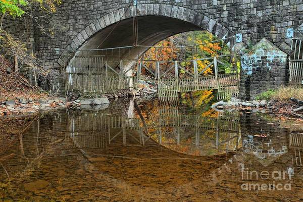 Photograph - Bucks County Stone Bridge by Adam Jewell