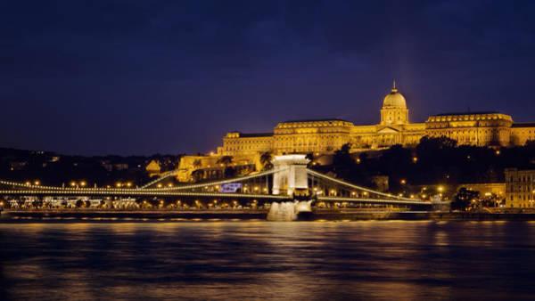 Photograph - Buda Castle And Chain Bridge by Joan Carroll