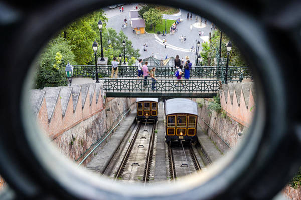 Wall Art - Photograph - Budapest Castle Hill Funicular by Pablo Lopez
