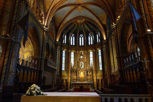 Photograph - Budapest Church by John Johnson