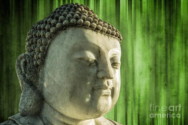 Photograph - Buddha - Bamboo by Hannes Cmarits