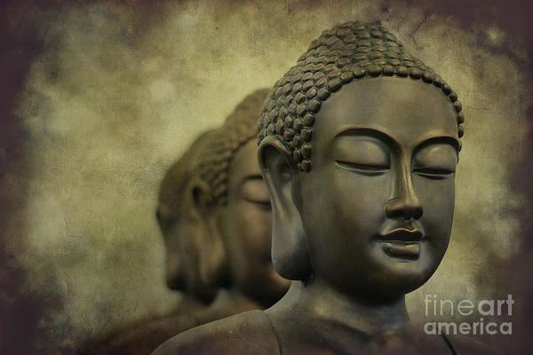 Buddha Bronze Art Print