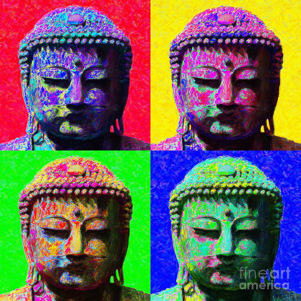 Photograph - Buddha Four 20130130 by Wingsdomain Art and Photography