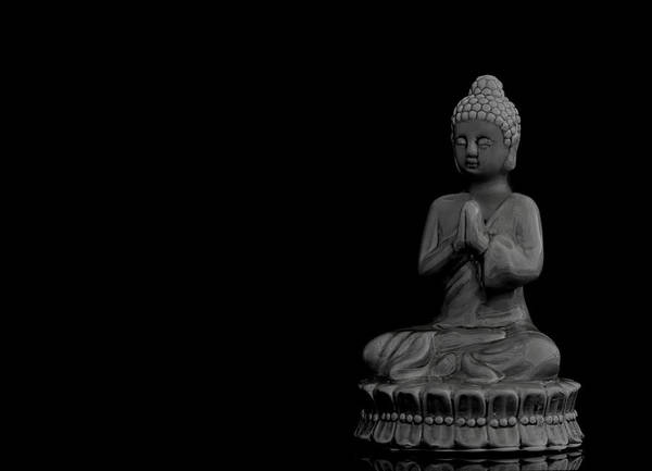 Mediation Photograph - Buddha by Heike Hultsch