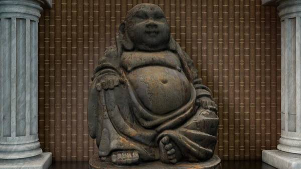 Gautama Digital Art - Buddha by Louis Ferreira